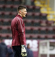 Burnley's Nick Pope during the pre-match warm-up <br /> <br /> Photographer Rich Linley/CameraSport<br /> <br /> The Premier League - Burnley v Leicester City - Saturday 16th March 2019 - Turf Moor - Burnley<br /> <br /> World Copyright © 2019 CameraSport. All rights reserved. 43 Linden Ave. Countesthorpe. Leicester. England. LE8 5PG - Tel: +44 (0) 116 277 4147 - admin@camerasport.com - www.camerasport.com