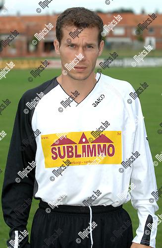 2007-08-14 / Voetbal / FC Verbroedering Meerhout / Tom Vandervee