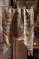 ATOTONILCO,GUANAJUATO.- Santuario de Jes&uacute;s de Nazareth,  donde el Cura Miguel Hidalgo y Costilla tom&oacute; el estandarte de la Virgen de Guadalupe la noche del 15 septiembre de 1810; mismo que us&oacute; en la arenga en el Templo de Nuestra Se&ntilde;ora de los Dolores tras haber sido descubierta la conspiracion. <br /> El Santuario es una construcci&oacute;n del siglo XVII cuyo dise&ntilde;o estuvo a cargo del padre Luis Felipe Neri de Alfaro. A partir de 2008 fu&eacute; declarado Patrimonio de la Humanidad por la UNESCO. Este a&ntilde;o ha concluido su total restauraci&oacute;n de los frescos, el p&oacute;rtico y altar mayor as&iacute; como la sacrist&iacute;a en donde se exhibe una r&eacute;plica fiel del estandarte usado por los insurgentes en la movimiento de Independencia de M&eacute;xico en 1810.<br />  <br /> FOTO: DEMIAN CH&Aacute;VEZ/AGENCIA OBTURA