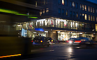 Berlin, Die Karstadt Filiale am Hermannplatz am Montag (20.10.2014). Foto: Steffi Loos/CommonLens