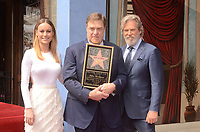 LOS ANGELES - MAR 10:  Brie Larson, John Goodman, Jeff Bridges at the John Goodman Walk of Fame Star Ceremony on the Hollywood Walk of Fame on March 10, 2017 in Los Angeles, CA