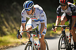 European Champion Alexander Kristoff (NOR) UAE Team Emirates in action during Stage 5 of the 2018 Tour de France running 204.5km from Lorient to Quimper, France. 11th July 2018. <br /> Picture: ASO/Pauline Ballet | Cyclefile<br /> All photos usage must carry mandatory copyright credit (&copy; Cyclefile | ASO/Pauline Ballet)