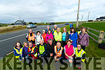 Pilgrims take a break during their walk from Tralee to Ballyheigue for the Ballyheigue Pattern day mass.