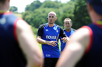 Bath Rugby first team coach Girvan Dempsey. Bath Rugby pre-season training on July 2, 2018 at Farleigh House in Bath, England. Photo by: Patrick Khachfe / Onside Images