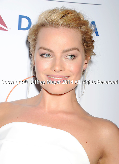 SANTA MONICA, CA- OCTOBER 26: Actress Margot Robbie attends the 3rd Annual Australians in Film Awards Benefit Gala at the Fairmont Miramar Hotel on October 26, 2014 in Santa Monica, California.