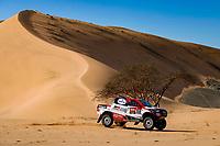 5th January 2020, Jeddah, Saudi Arabia;  310 Alonso Fernando esp, Coma Marc esp, Toyota Hilux, Toyota Gazoo Ragin, during Stage 1 of the Dakar 2020 between Jeddah and Al Wajh, 752 km - Editorial Use
