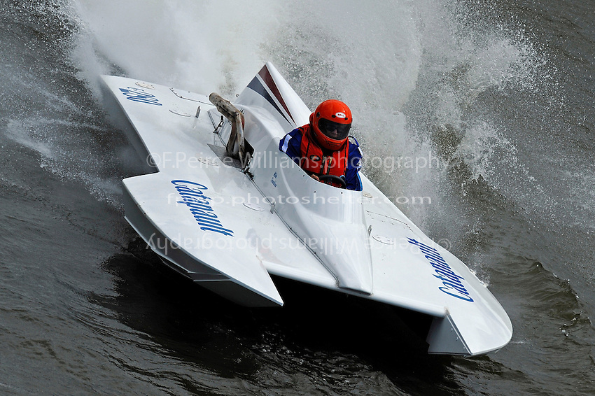 """Mike Donaldson, E-280 """"Catapult"""" (cabover 280 class hydroplane)"""