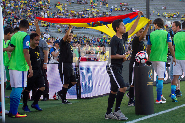 Photo before the match Brazil vs Ecuador, Corresponding Group -B- America Cup Centenary 2016, at Rose Bowl Stadium<br /> <br /> Foto previo al partido Brasil vs Ecuador, Correspondiante al Grupo -B-  de la Copa America Centenario USA 2016 en el Estadio Rose Bowl, en la foto: Vista General<br /> <br /> <br /> 04/06/2016/MEXSPORT/Victor Posadas.