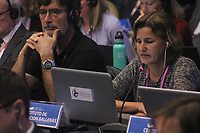 FLORIANÓPOLIS, SC, 10.09.2018 - IWC-SC -   67ª reunião anual de Membros da IWC (International Whaling Commission) em Florianópolis nesta Quinta-feira 13. .  (Foto: Naian Meneghetti/Brazil Photo Press)