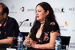 """The director of the film, Anna Biller during the press conference of the presentation of the film """"The Love Witch"""" at the Festival de Cine Fantastico de Sitges in Barcelona. October 08, Spain. 2016. (ALTERPHOTOS/BorjaB.Hojas)"""