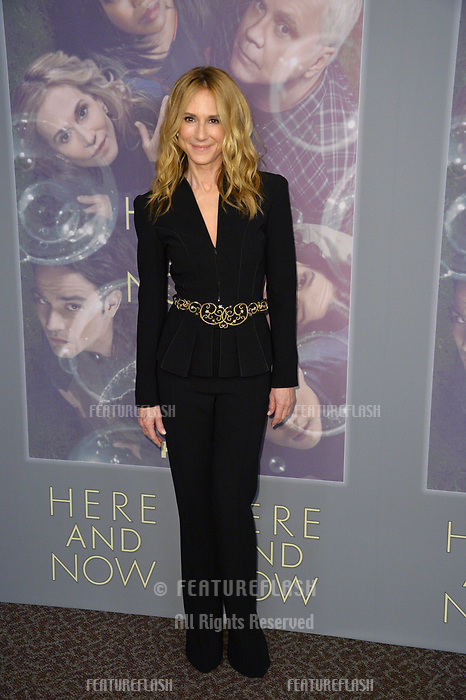 Holly Hunter at the premiere for HBO's &quot;Here and Now&quot; at The Directors Guild of America, Los Angeles, USA 05 Feb. 2018<br /> Picture: Paul Smith/Featureflash/SilverHub 0208 004 5359 sales@silverhubmedia.com