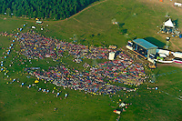 Airview from the culture festival at the jamboree main arena. (Patrik Tanner/TPA Images)