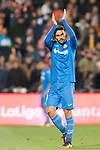 Angel Luis Rodriguez Diaz of Getafe CF in action during the La Liga 2017-18 match between Getafe CF and Valencia CF at Coliseum Alfonso Perez on December 3 2017 in Getafe, Spain. Photo by Diego Gonzalez / Power Sport Images
