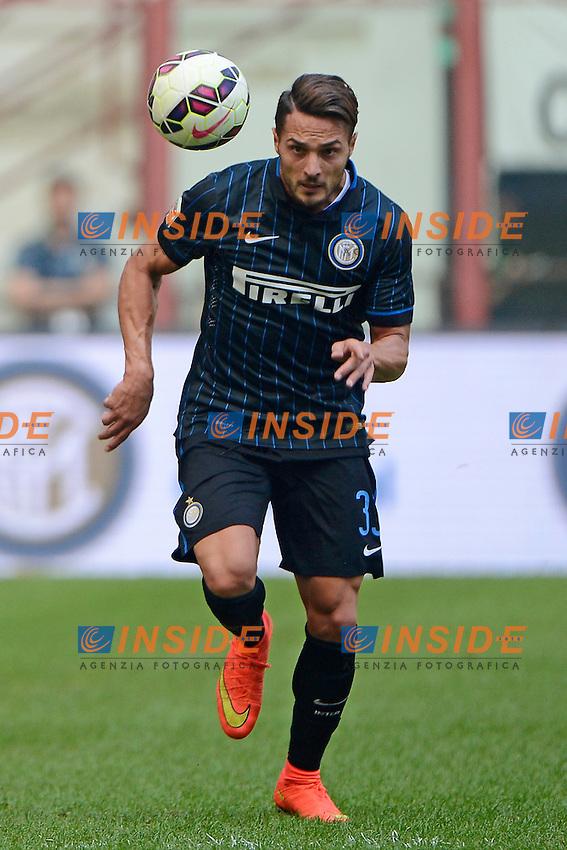 Danilo D'Ambrosio Inter<br /> Milano 28-09-2014 Stadio Giuseppe Meazza - Football Calcio Serie A Inter - Cagliari. Foto Giuseppe Celeste / Insidefoto