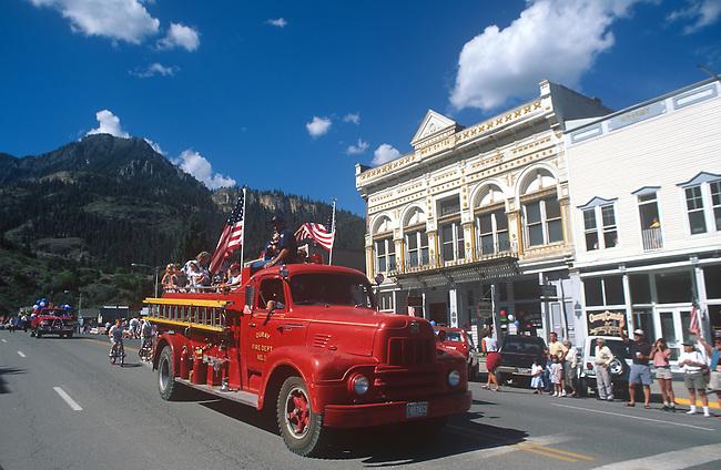 Parade, July 4th, Ouray, Colorado