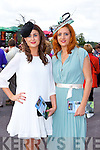 Mairead Dineen and Elaine Kennelly Killarney  at the Killarney Races on Saturday