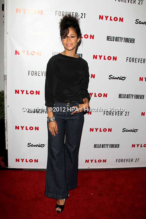 LOS ANGELES - OCT 15:  Sherri Saum arrives at  Nylon's October IT Issue party at London West Hollywood on October 15, 2012 in Los Angeles, CA