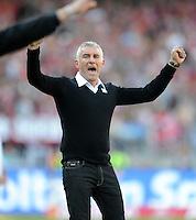 Fussball Bundesliga 2011/12: 1. FC Nuernberg - Hannover 96