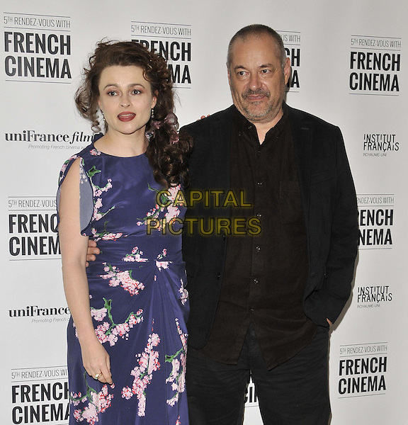 LONDON, ENGLAND - APRIL 27: Helena Bonham Carter &amp; Jean-Pierre Jeunet attend the &quot;The Young &amp; Prodigious T.S. Spivet&quot; film screening &amp; Q&amp;A, Rendez-Vous With French Cinema 2014 film festival, Cine Lumiere, Queensberry Place, on Sunday April 27, 2014 in London, England, UK.<br /> CAP/CAN<br /> &copy;Can Nguyen/Capital Pictures