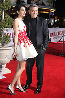 Amal Clooney, George Clooney<br /> at the &quot;Hail, Caesar&quot; World Premiere, Village Theater, Westwood, CA 02-01-16<br /> David Edwards/DailyCeleb.com 818-249-4998