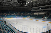 October 30th 2017, PYEONGCHANG, South Korea; Photo taken on October 30th, 2017 shows interior of the Gangneung Indoor Ice Rink for the PyeongChang Winter Olympic Games