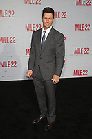 WESTWOOD, CA - AUGUST 9: Mark Wahlberg, at Premiere Of STX Films' &quot;Mile 22&quot; at The Regency Village Theatre in Westwood, California on August 9, 2018.<br /> CAP/MPIFS<br /> &copy;MPIFS/Capital Pictures
