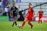 Orlando, FL - Saturday October 14, 2017: Amandine Henry during the NWSL Championship match between the North Carolina Courage and the Portland Thorns FC at Orlando City Stadium.
