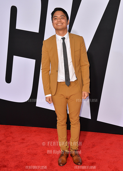 Andrew Lopez at the premiere for &quot;Blockers&quot; at the Regency Village Theatre, Los Angeles, USA 03 April 2018<br /> Picture: Paul Smith/Featureflash/SilverHub 0208 004 5359 sales@silverhubmedia.com