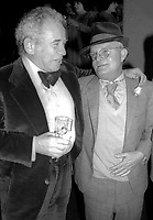 Norman Mailer Truman Capote 1978<br /> Photo By Adam Scull/PHOTOlink.net