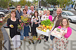 ON THE MOVE: Tralee Farmers Market is moving from the Square in Tralee to Princess Street. Pictured from l-r were: Deputy town mayor Gillian Wharton Slattery, Peter Keane, Coleen Shields, Edward Breen, Dan Galvin, Jackie Lynch, Eva Garcia, Eimir Moriarty, Thomas O'Connor and Dee Power.