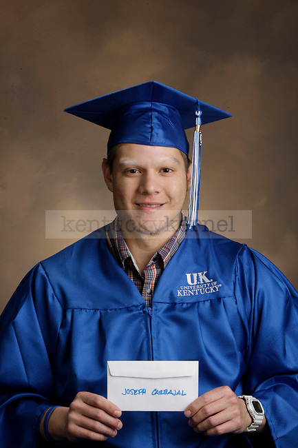 Carbajal, Joseph photographed during the Feb/Mar, 2013, Grad Salute in Lexington, Ky.