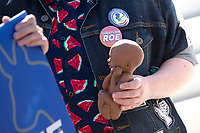 A Pro-Life activist holds a 22 week fetal model during a rally outside the United States Supreme Court in Washington D.C., U.S., on Monday, June 29, 2020.  The Court delivered a 5-4 ruling blocking a restrictive abortion law in Louisiana Monday morning.  Credit: Stefani Reynolds / CNP /MediaPunch