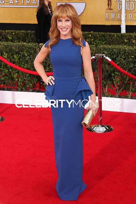 LOS ANGELES, CA - JANUARY 18: Kathy Griffin at the 20th Annual Screen Actors Guild Awards held at The Shrine Auditorium on January 18, 2014 in Los Angeles, California. (Photo by Xavier Collin/Celebrity Monitor)