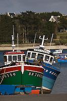 Europe/France/Bretagne/29/Finistère/Saint-Pabu: le port de pêche sur l'Aber Benoit