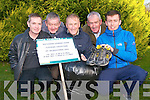 Work has commenced on a village enhancement programme for Kilcummin Village and to support the plans a clothes collection and fun run is being organised. .Front L-R Pro of Kilcummin Looking Good Michael McGurl, chairman Tony O'Connor and Muiris Healy.Back L-R Treasurer Dan Greany and secretary Michael O'Connor.
