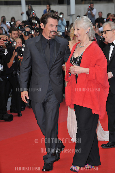 "Josh Brolin & Gemma Jones at the premiere of their new movie ""You Will Meet A Tall Dark Stranger"" at the 63rd Festival de Cannes..May 15, 2010  Cannes, France.Picture: Paul Smith / Featureflash"