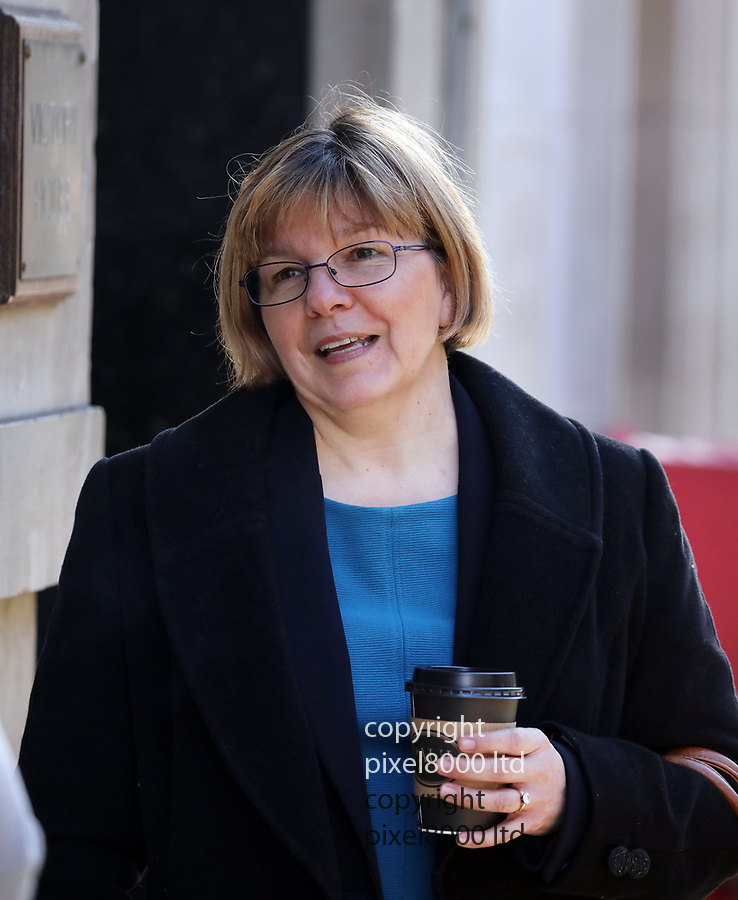 Pic shows: Central London Industrial Tribunals<br /> Former Colonel Mary Roohan outside the tribunal today<br /> <br /> <br /> <br /> <br /> pic by Gavin Rodgers/Pixel8000<br /> 28.1.19