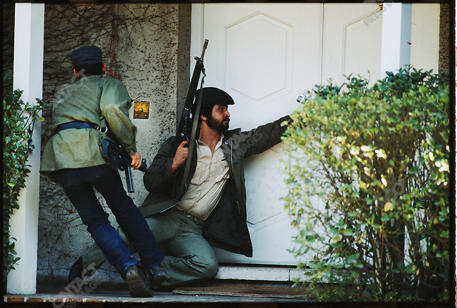 Militants assault the U.S. Embassy. Tehran, February 14, 1979