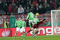 Diego (Wolfsburg) gegen Stefan Vogler (OFC)