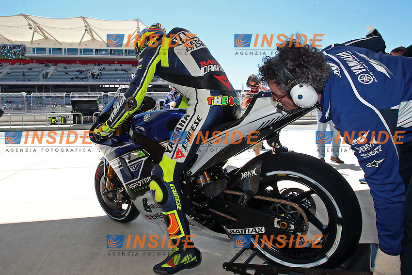 .19-04-2013 Austin (USA).Motogp world championship.in the picture: Valentino Rossi - Yamaha factory team .Foto Semedia/Insidefoto.ITALY ONLY