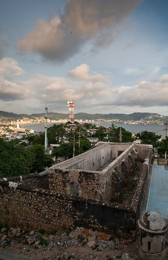 Fortin de Alvarez, fort. Acapulco, Guerrero, Mexico