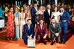 Cast fo Velvet attends to orange carpet of 'Velvet' during FestVal in Vitoria, Spain. September 04, 2018.(ALTERPHOTOS/Borja B.Hojas)