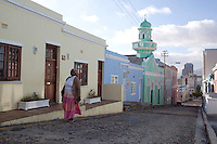 CAPE TOWN, SOUTH AFRICA - MARCH 21: Residential areas in the Bo-Kaap area on March 21, 2012 in Cape Town, South Africa (Photo by Per-Anders Pettersson)