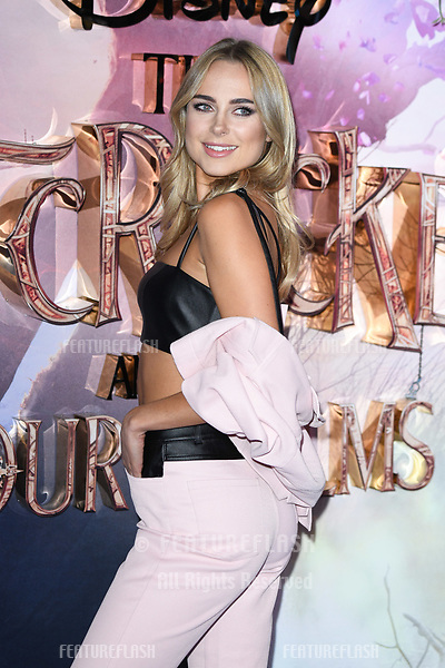 "LONDON, UK. November 01, 2018: Kimberley Garner at the European premiere of ""The Nutcracker and the Four Realms"" at the Vue Westfield, White City, London.<br /> Picture: Steve Vas/Featureflash"