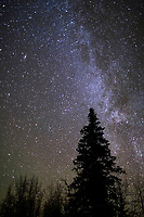 Milky way galaxy, Wiseman, Alaska.