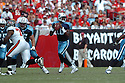 VINCE YOUNG, of the Tennessee Titans , in action during the Titans games against the Tampa Bay Buccaneers , in Tampa Bay, FL on October 14, 2007.  ..The Buccaneers won the game 13-10...COPYRIGHT / SPORTPICS..........