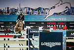 Gerco Schroder of Netherlands riding Glock'sPrince de Vaux competes at the Longines Speed Challenge during the Longines Hong Kong Masters 2015 at the AsiaWorld Expo on 13 February 2015 in Hong Kong, China. Photo by Xaume OIleros / Power Sport Images