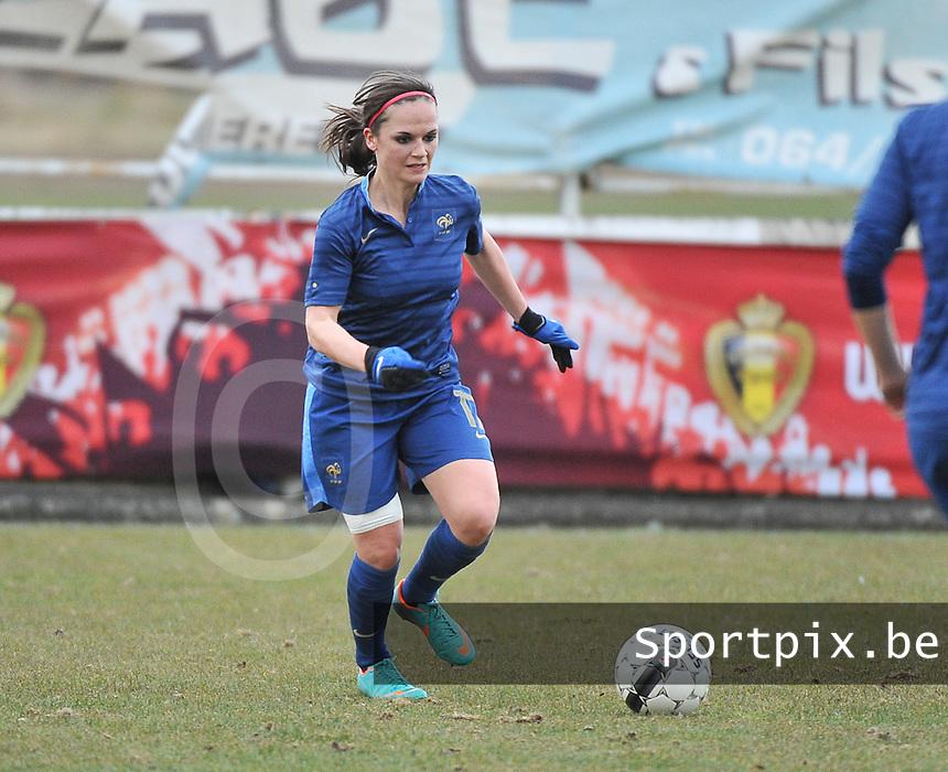 Switzerland U19 - France U19 : Alexandra Atamaniuk.foto DAVID CATRY / Nikonpro.be