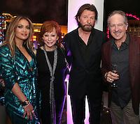 LAS VEGAS, NEVADA - JULY 24, 2016 JLO, Reba Mc Entire & Brooks & Dunn attend the JLO private birthday celebration at The Nobu Villa Suite at Caesars Palace, July 24, 2016 in Las Vegas Nevada. Photo Credit: Walik Goshorn / Mediapunch