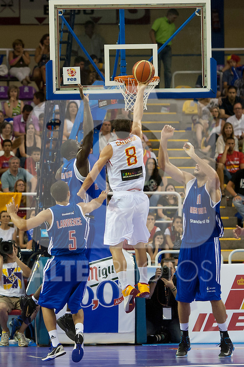 Spain's  Jose Manuel Calderon  during friendly match.July 9,2012.(ALTERPHOTOS/Ricky)